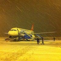 Photo taken at Erzurum Airport (ERZ) by Omer Faruk S. on 12/19/2012