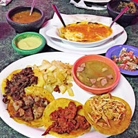 Photo taken at Ruchi's Taqueria Las Americas by PONCHOgg on 3/30/2014