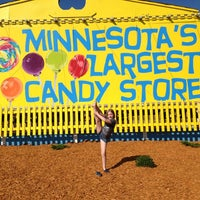 Photo taken at Minnesota's Largest Candy Store by Connie K. on 8/1/2013
