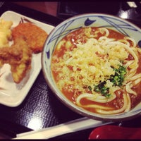 Photo taken at Marukame Udon by Venk S. on 10/20/2012