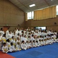 Photo taken at Norscot JKA Karate School by Kobus v. on 6/29/2013
