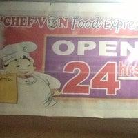 Photo taken at Chef Von Food Express by Jayr A. on 3/23/2013
