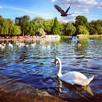 Photo taken at Hyde Park by Anna M. on 6/2/2013