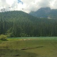 Photo taken at Lago di Tovel by pow on 7/29/2016