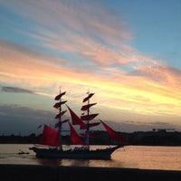 Photo taken at Palace Bridge by Alena C. on 6/22/2013