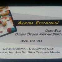 Photo taken at Alkım Eczanesi by Gülçin Y. on 6/29/2013