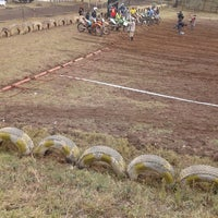 Photo taken at Motocross Track by Sam W. on 11/10/2013