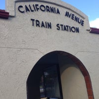 Photo taken at California Ave Caltrain Station by Mike C. on 9/21/2013