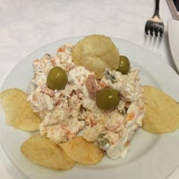 Photo taken at Cafetería-Restaurante Hotel Europa by 😸 on 12/30/2015