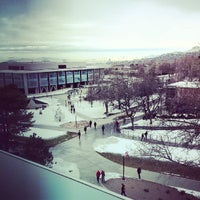 Photo taken at Spencer Fox Eccles Business Building by Riley P. on 1/13/2014