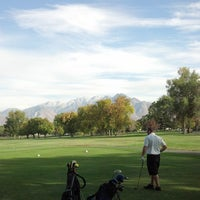Photo taken at Nibley Park Golf Course by Riley P. on 10/16/2013