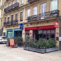 Photo taken at La boucherie Restaurant by Dupuis-Remond J. on 10/16/2014