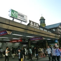Photo taken at Harajuku Station by Sho S. on 5/17/2013