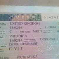 Photo taken at UK Visa Application Centre by Elzabe D. on 2/14/2014