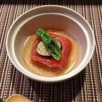 Photo taken at Shunji Japanese Cuisine by Naomi T. on 12/9/2012