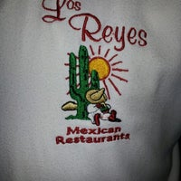 Photo taken at Los Reyes Mexican Restaurant by Paloma G. on 10/28/2012