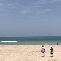 Photo taken at Tung Wua Laen Beach by eveita on 4/6/2018