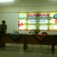 Photo taken at Kampus Tengah Undiksha by Ratu O. on 12/6/2012