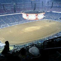 Photo taken at Houston Livestock Show and Rodeo by Ramona F. on 3/2/2013