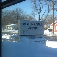 Photo taken at Franklin Avenue Library by Romelle S. on 12/29/2012