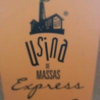 Photo taken at Usina de Massas Express by Marcelo Almeida on 1/12/2013