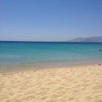 Photo taken at Agios Prokopios Beach by Stathis G. on 7/24/2013