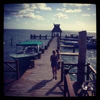 "Photo taken at restaurant marina ""las jaibas"" by Kirill F. on 2/5/2013"