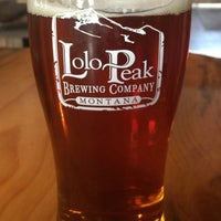 Photo taken at Lolo Peak Brewing Company by Tom M. on 8/19/2017