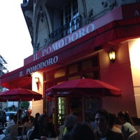 Photo taken at Il Pomodoro by Francisco H. on 6/14/2013