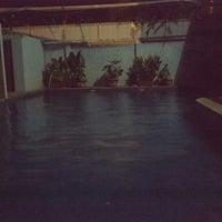 Photo taken at Bunlinda Hostel by Silvia F. on 4/18/2014