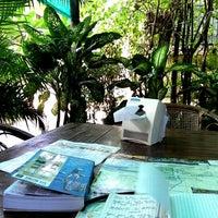 Photo taken at Bunlinda Hostel by Silvia F. on 4/20/2014