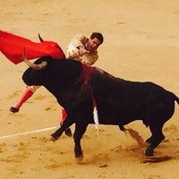 Photo taken at Plaza De Toros Albacete by Los sitios de S. on 9/12/2015