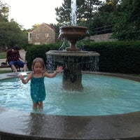 Photo taken at Watkins Fountain by Roy L. on 7/18/2013