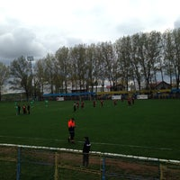 Photo taken at Stadionul TITU by Adrian A. on 4/11/2014
