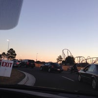 Photo taken at Carowinds Parking Lot by Terry S. on 10/25/2014