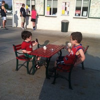 Photo taken at Maggie's Italian Ice by Ted B. on 5/20/2013