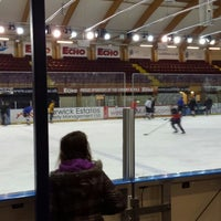 Photo taken at Ice Arena Wales by Denis C. on 2/27/2014