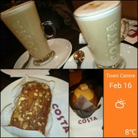 Photo taken at Costa Coffee by La J. on 2/16/2014