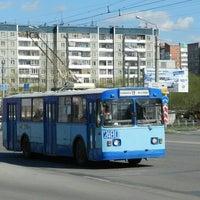 Photo taken at Троллейбус №2 by Artem P. on 5/14/2013