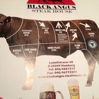 Photo taken at Black Angus Steak-House by Martin on 12/5/2012