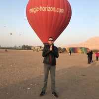 Photo taken at Luxor Balloon by Cesar S. on 2/27/2017