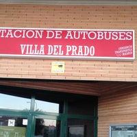 Photo taken at Estacion De Autobuses Villa Del Prado by Jorge J. on 9/8/2014