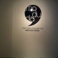 Photo taken at moduda Beer by Eunju L. on 11/16/2012