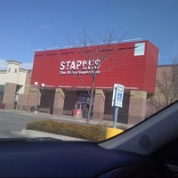 Photo taken at Staples by Colin D. on 3/7/2013