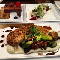 Photo taken at Bambu Restaurant & Lounge by Kelvin L. on 2/21/2013