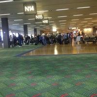 Photo taken at Gate N16 by Julia P. on 10/13/2012