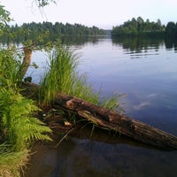 Photo taken at Озеро Сювеярви (Хиттоловское) by Alessia K. on 6/2/2013