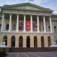 Снимок сделан в Русский музей пользователем Alessia K. 6/16/2013
