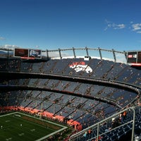 Photo taken at Sports Authority Field at Mile High by Megan R. on 3/5/2013