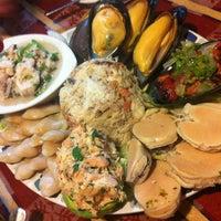 Photo taken at Restaurant La Bahía by Viviana C. on 11/23/2012